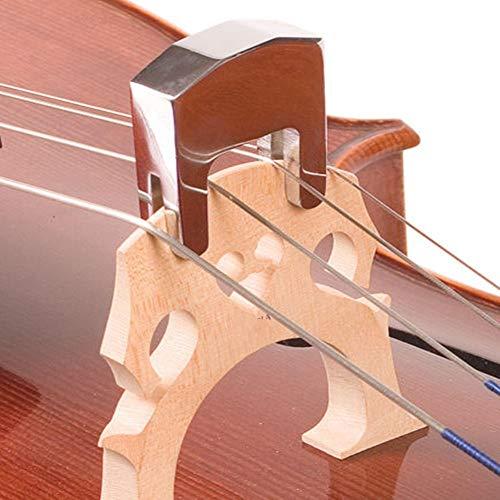wonderday Cello Schalldämpfer aus Metall mit Zwei Spitzen für Cello 3/4 und 4/4, für Studenten oder Anfänger
