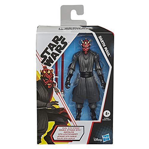 Star Wars Galaxy of Adventures Darth Maul Toy 5-inch Scale Action Figure with Fun Lightsaber Accessory Feature, Toys for Kids Ages 4 and Up