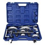 Juego de doblado de Bender, Dobladora de tubos Bender Juego de herramientas para doblar CT ‑ 999RF Kit de herramientas de molde de cobre manual para tubos industriales 10‑22 mm