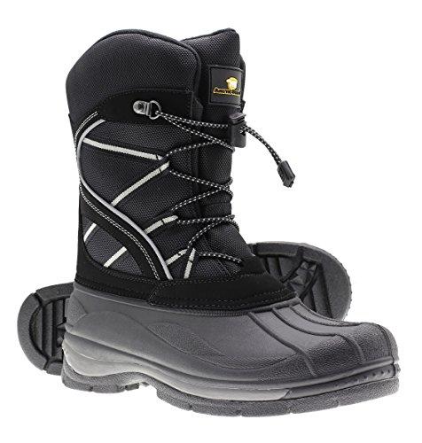 Arctic Shield Mens Warm Comfortable Waterproof Durable Outdoor Winter Snow Boots (12)