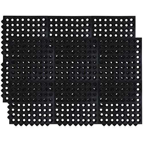 SafetyCare Interlocking Rubber Mat Tiles