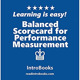 Balanced Scorecard for Performance Measurement audiobook cover art