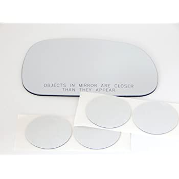 Replacement Passenger Side Flat Right OE Mirror Glass Lens For 1996-2002 BMW Z3