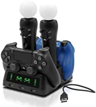 Tiancai Controller Charger Station for PS4/PS4...