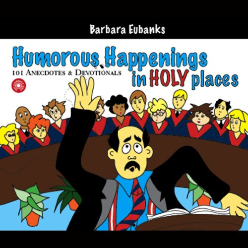 Humorous Happenings in Holy Places audiobook cover art