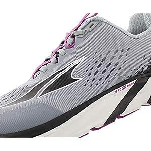 ALTRA Women's Torin 4 Road Running Shoe, Gray/Purple - 8.5 M US