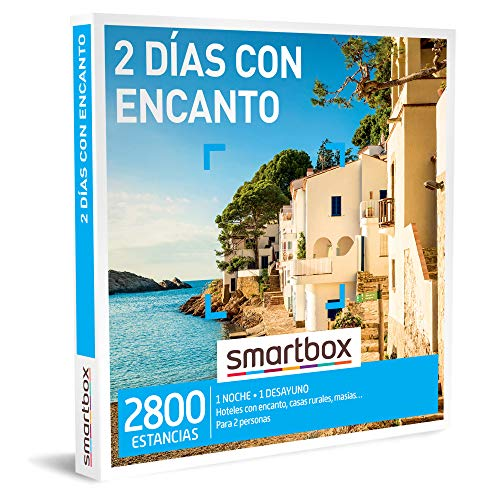 Smartbox - Caja Regalo Amor para Parejas - 2 días con Encanto - Ideas Regalos Originales - 1 Noche con Desayuno para 2 Personas