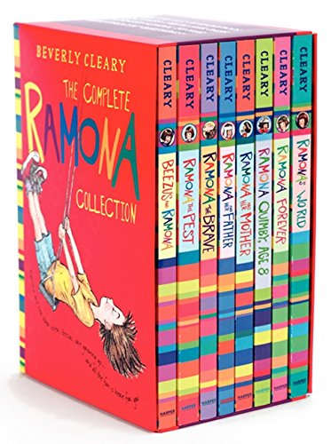 The Complete 8-Book Ramona Collection: Beezus and Ramona, Ramona and Her Father, Ramona and Her Mother, Ramona Quimby, Age 8, Ramona Forever, Ramona the Brave, Ramona the Pest, Ramona's World
