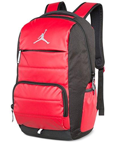 Nike Jumpman Premium 9A1640-681 Laptop Bookbag Basketball Boys Backpack - Gym Red