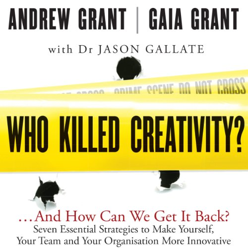 Who Killed Creativity? audiobook cover art