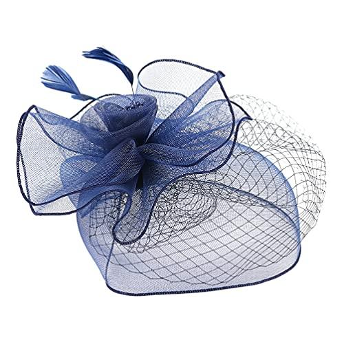 ifundom Sombreros Fascinator para Mujeres 20S 50S Vintage Pastillero Clip para El...