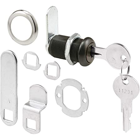 Keyed Alike CRL Bronze Finish Cam Lock