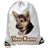 Personalizable pastor alemán Cachorro gimnasio/PE/Bolsa de natación