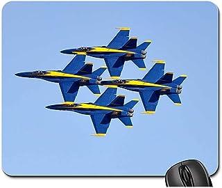 Alfombrillas para ratón - Blue Angels Jets F-18 Flight Aircraft Flying