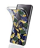 Suhctup Compatible con Huawei Mate 20 Lite Funda Flor de TPU Transparente Diseño de Flores Patrón Cárcasa Ultra Fina Suave con Dibujos Claro Silicona Antigolpes Proteccion Caso(A13)