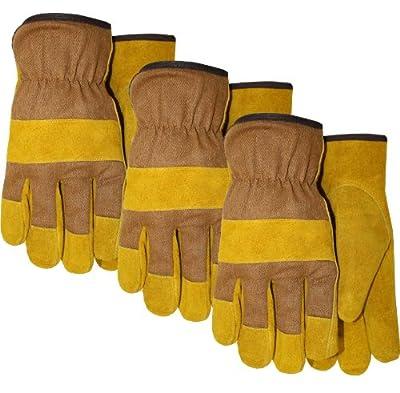 Fleece Foam Lined Cowhide Leather Work Glove