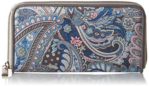 Oilily Damen L Zip Geldbörsen, Blau (LEGEND BLUE 550), 20x3x11 cm