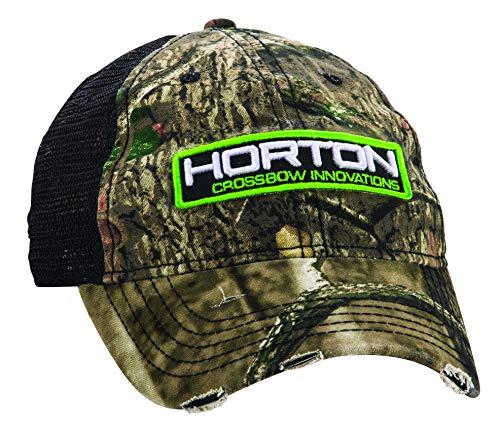 HORTON CROSSBOW INNOVATIONS Unisex-Erwachsene Patch Hat Mütze, Camo/Black Mesh, Einheitsgröße