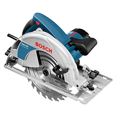 bon comparatif Scie circulaire professionnelle Bosch GKS85 (2200 W, Ø lame de scie: 235 mm, emballage… un avis de 2021