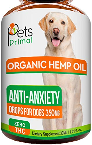 Hemp Oil for Dogs & Cats - Hemp Extract Made in...