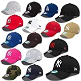 New Era 9Forty MLB - Gorra con diseño de los New York Yankees, ajustable Rosa Uno-Talla-fitts-Todos