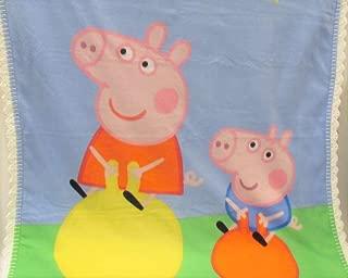 Peppa the Pig and George Fleece Blanket