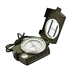 Ueasy Military Prismatic Sighting Compass