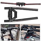 SALUTUYA Manillar Plegable para Bicicleta de Alta Resistencia de aleación de Aluminio, fácil de Instalar para entusiastas del Ciclismo