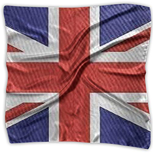 Square Scarf British Flag Square Scarves Hair Scarfs Neckscarfs for Women