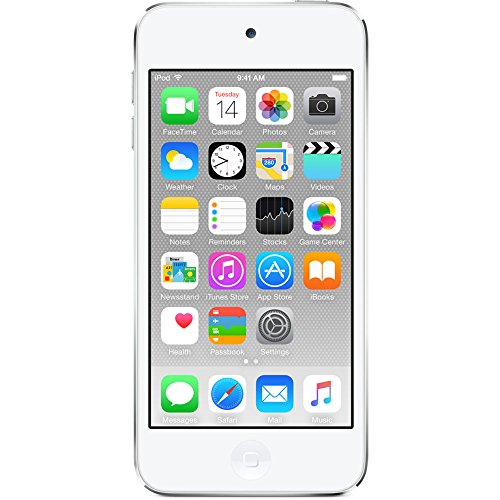 Apple iPod touch 64GB WiFi MP3 Player 6th Generation - Silver (Renewed)