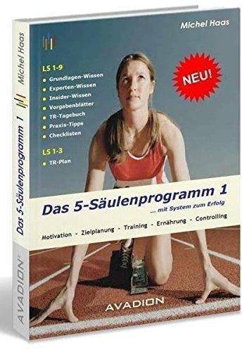 Das 5 Säulenprogramm 1 ... mit System zum Erfolg: Motivation - Zielplanung - Training - Ernährung - Controlling