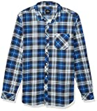 Rip Curl Herren Scout Long Sleeve Flannel Sweatshirt, blau, XX-Large