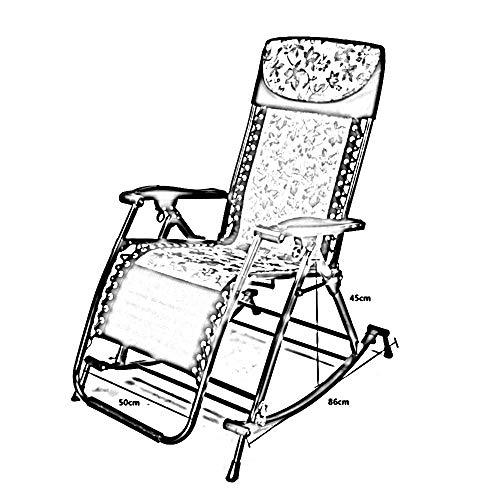 PU Dormitorio Letto Sedia, Studente Pigro Sedia, Collegio Dormitorio Artefatto Sedia a dondolo Chaise longue Chaise longue Sedia pieghevole per il tempo libero Sedia per il tempo libero Sedie a sdrai