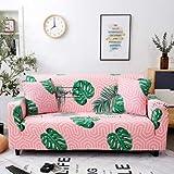 PCSACDF - Funda de sofá con Estampado de Colores Eng Envuelto Funda de sofá elástica Needs Order If L Style Sectional Ecksofa-Bezüge 1 Pieza 45 cm Fundas de Almohada 16