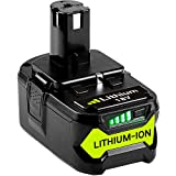 <span class='highlight'><span class='highlight'>GatoPower</span></span> 18V 5.0Ah Replacement Battery for Ryobi One   RB18L50 P108 P107 P100 P122 P105 P102 P103 P200 RB18L40 RB18L25 RB18L15 RB18L13