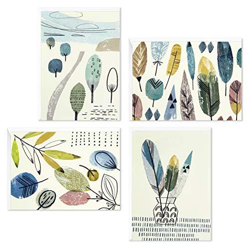 Hallmark - Surtido de tarjetas en blanco (48 tarjetas con sobres)