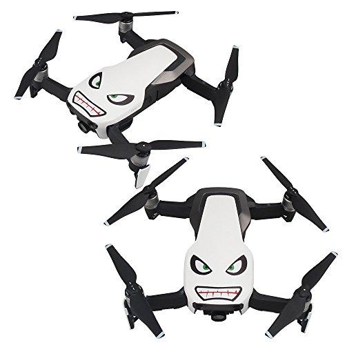 8 St/ück Drohnen Aufkleber Hai Gesicht Aufkleber Skin Aufkleber Karton Aufkleber Abzeichen Aufkleber Cover Kompatibel mit DJI MAVIC PRO//MAVIC Air//DJI Phantom 3//4 series//SPARK//Wingsland S6 Drohnen