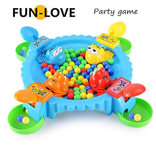 fun-love Füttern der kleine Frosch zu Essen Bohnen Freizeit Gehirn Brettspiel Eltern-Kind-Spiel