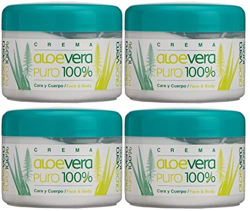 Bionatural Canarias Aloe Vera puro 100% Body/Face Creme 250 ml x 2 Einheiten