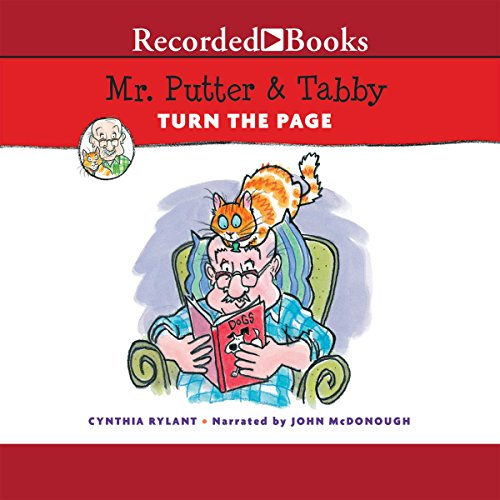 Mr. Putter & Tabby Turn the Page audiobook cover art