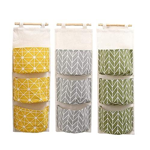 DierCosy Tools, bolsas de almacenamiento creativas impermeables para colgar en la pared, organizador de armario, bolsas colgantes para el hogar, dormitorio, baño