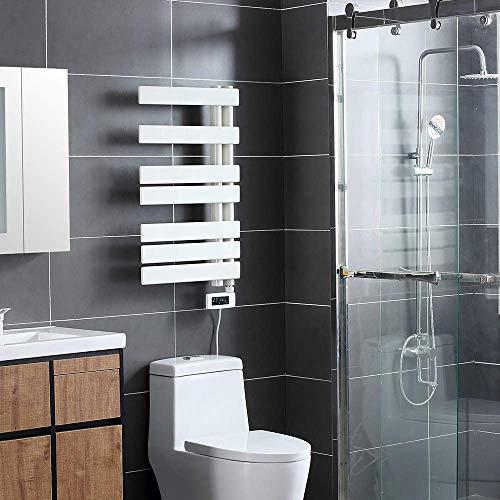 Mobiliario para el hogar Calentador de toallas Toallero eléctrico con termostato Dispensador...