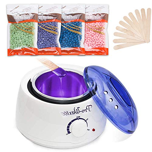 Wax Warmer, Abody Hair Removal Waxing Kit, Hot Wax Heater for Salon, Spa and Home, Wax Heater for...