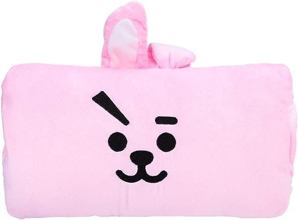 Teblacker BTS Hand Warmer Kpop Bangtan Boys Cute Cartoon Plush Throw Pillow For Sofa Bedroom Living Room Car Office Outdoor Cooky
