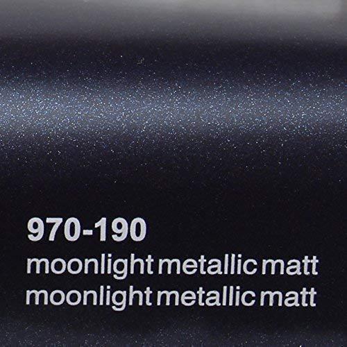 20,72€/m² Oracal 970RA 190 Moonlight Matt Metallic gegossene Profi Autofolie 152cm breit BLASENFREI mit Luftkanäle