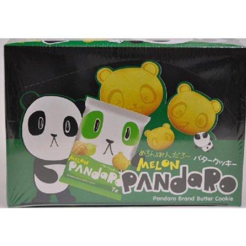 やおきん MELON PANdaRo めろんぱんだろー バタークッキー  (1箱24個入) 焼菓子
