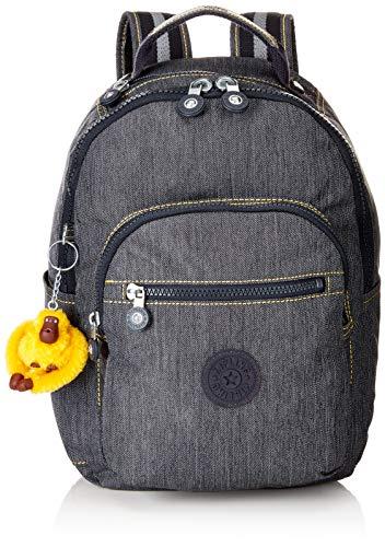 Kipling SEOUL GO S Organizador de bolso, 35 cm, 14 liters, Azul (Extreme Block)