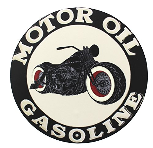 Finest-Folia UG 1 x Gasolina Oil Old School Motorcycles Adhesivos Cafe Racer Retro # 13