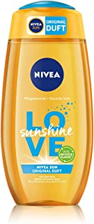 NIVEA Love Sunshine verzorgende douchegel (250 ml), zomerse douchegel met aloë vera voor merkbaar zachte huid, douche met ...