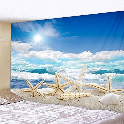 Baiyun Beach Starfish Printed Big...